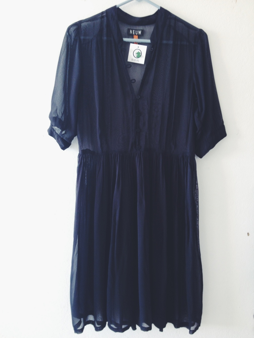 Sheer Dress from Beacons Closet